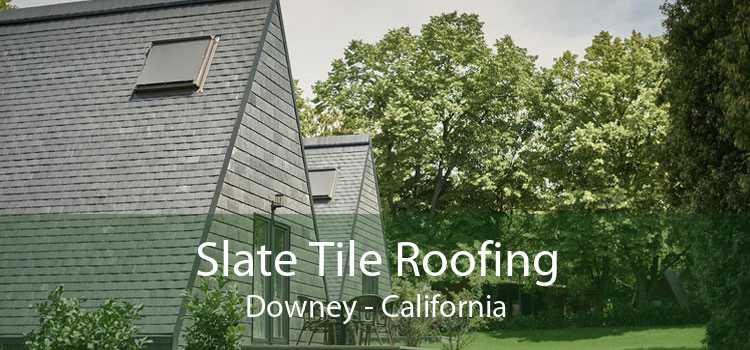 Slate Tile Roofing Downey - California