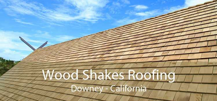 Wood Shakes Roofing Downey - California